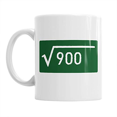 30th Birthday Gift Gifts For Men Women 1988 Square Root Mug Coffee