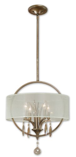 Burnished Gold Alenya 4 Lt Pendant Model-21962 ()