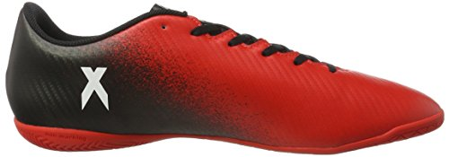 Black De Futsal X red 16 ftwr 4 Chaussures Rouge White Adidas core Homme In 14agnxOU