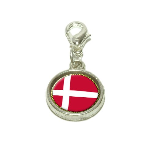 Flag Of Denmark Dangling...
