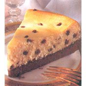 Chocolate Chocolate Chip Cheesecake (Calorie Control Chocolate Chip Cheesecake Mix)