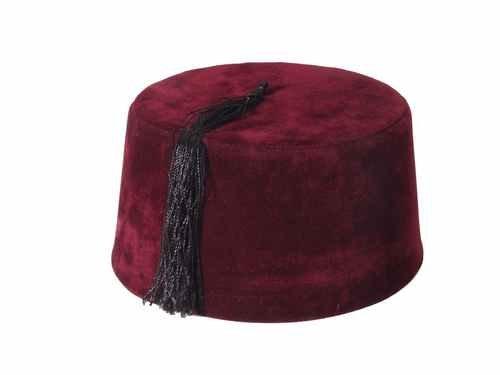 fc4789ba62b4 Amazon.com: Tulumba Maroon Fez Hat: Clothing