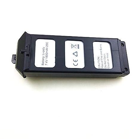 Rabusion 7.4V 1800Mah Li-po Batería para MJX B5W Bugs 5W / JJPRO ...