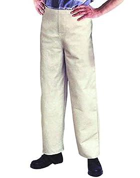 RIMAG 921352 - Pantalones de soldador (talla 52), color gris: Amazon.es: Bricolaje y herramientas