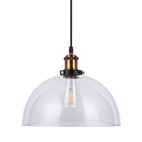 LightingPro Industrial Kitchen Pendant Light, Vintage 12