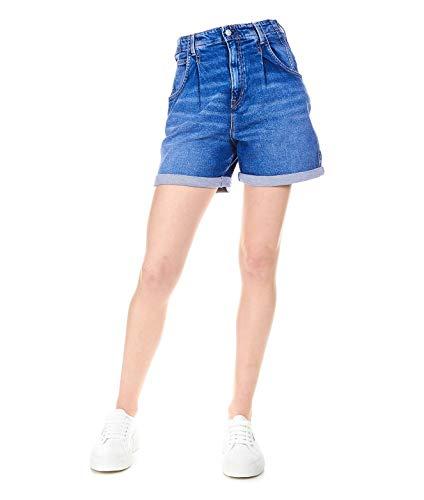 (Pepe Jeans Women's Pl800846gq6000 Blue Cotton Shorts)