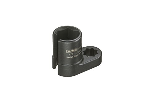 ARES 70323   22mm 1/2-inch Drive Heated Oxygen Sensor Socket   Wire Gate Accesses Sensor from The Side, Preventing Damage to Wires