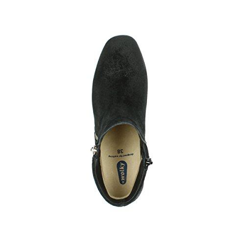 Stivali Wolky Pantua Camoscio Comfort Nero Di 40000 Oliato r7wPrq