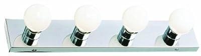 Design House 500892 4 Light Vanity Light, Polished Chrome