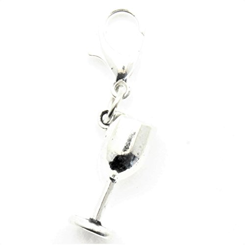 AVBeads Clip-On Charms Goblet Charm 30x9mm -