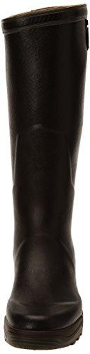 Aigle Natuurlijk 2 Unisex Volwassen Langstaart Gummistiefel Bruin (brun 5)