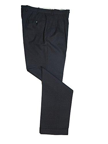 Brioni Delta Charcoal Gray Lightweight Wool Dress Pants 33 -