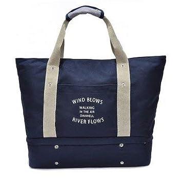 Womens Bags Luggage /& Travel Bags - Blue - 1Pcs x Toiletry Waterproof Bag Travel Canvas Handbags Outdooors Sports Duffel Bags Multifunction Shoulderbags