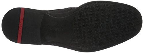 Lloyd Velo Gore-Tex, Zapatos de Cordones Derby para Hombre Negro - Schwarz (Schwarz 0)