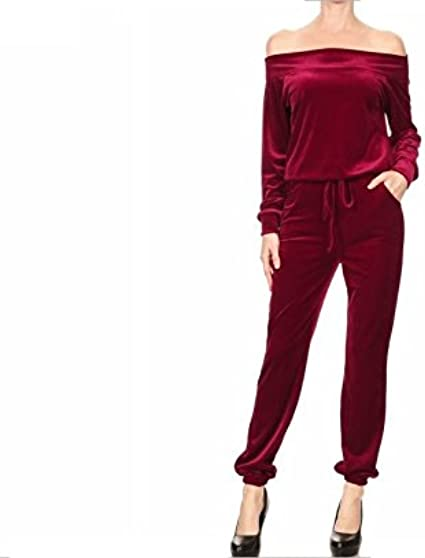 Amazon Com Prima Dnd Z Valar Velour Jumpsuit Clothing