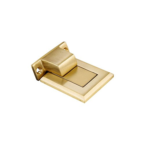 Zhi Jin 1Pc Elegant Copper Magnetic Door Stopper Heavy Duty Doorstop Holder Catch Oil-rubbed Gold