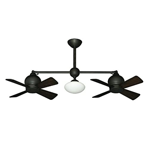 fan com dual fans ceilings horizontal ceiling shaft