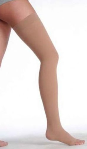 fd099db3a69 Image Unavailable. Image not available for. Color  Juzo 3512 AG Varin Open Toe  Garter Style Thigh Highs 30-40 mmHg ...