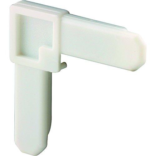 Prime-Line MP7723 Plastic Screen Frame Corner, 3/8 in. x 3/4 in., White Finish, (Box of 100) -