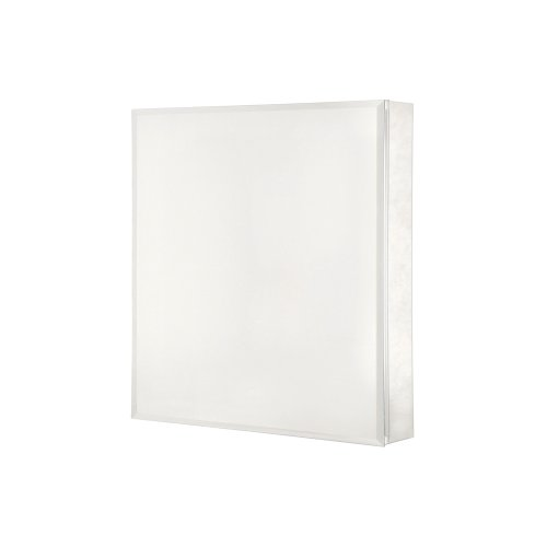 Pegasus SP4581 26-Inch by 20-Inch Surface or Recessed Mount Beveled Mirror Medicine -