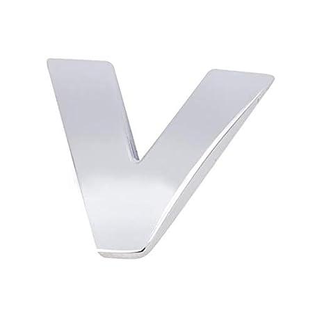 3D Metal DIY Letters Alphabet Emblem 4.5cm Chrome Car Stickers Digital Badge Automobiles Logo Car Accessories Motorcycle sticker