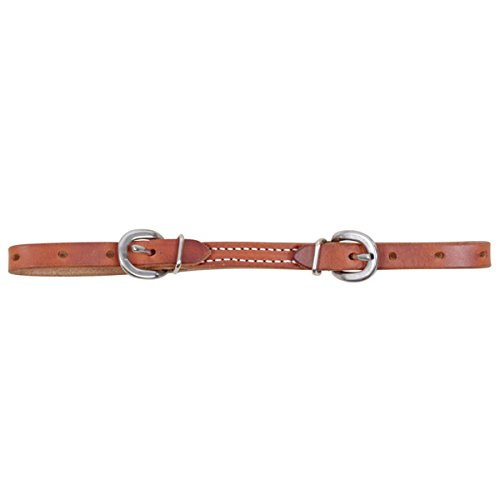 Martin Harness Leather Curb Strap (Harness Leather Curb Strap)