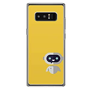 Loud Universe cute Robot Samsung Note 8 Case Wall e Samsung Note 8 Cover with Transparent Edges