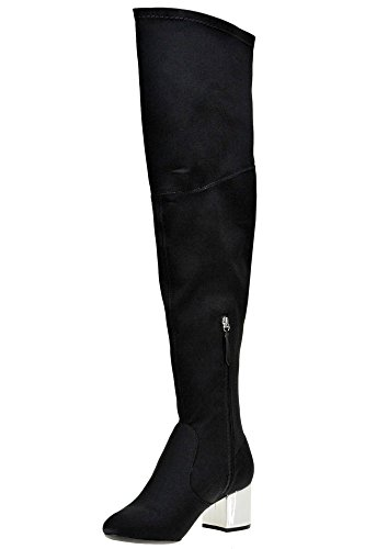 Women's Boots Schutz Mcglcas04014i Fabric Black Ankle dqOBA1w