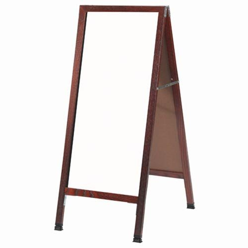 A-frame Markerboard (A Frame Sidewalk Board with White Markerboard Size & Frame: 18