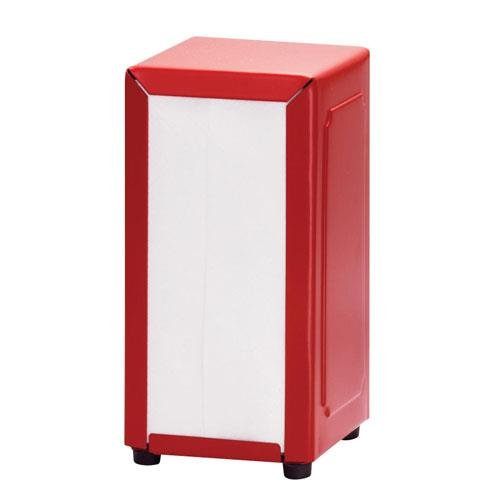 Tablecraft - 2211 - Full Size Red Napkin Dispenser