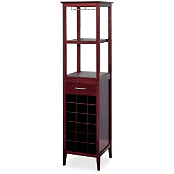 Amazon Winsome Wood Wine Tower Espresso Finish Kitchen Dining