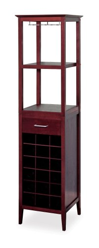 Tower Wine Rack - Winsome Wood Wine Tower Espresso Finish
