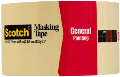 3M 2050-72A 2.83'' Scotch® Painters' Masking Tape For Trim Work