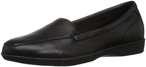 Easy Spirit Women's Devitt Oxford Flat, Black, 8.5 W US by Easy Spirit