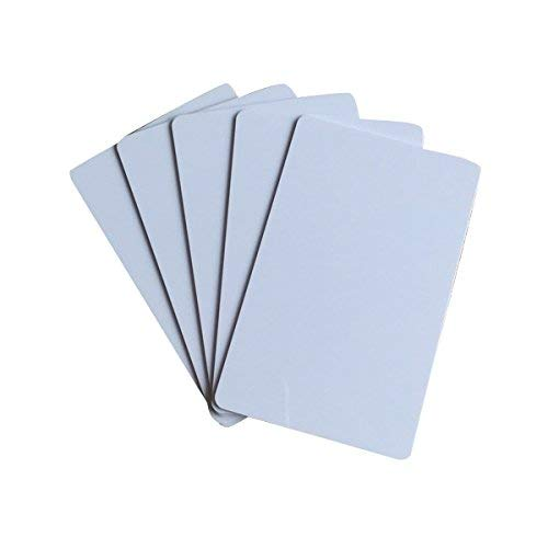 MIFARE Classic 1K Card,PVC Blank White Card ISO14443A Hotel Key (pack of 2000)