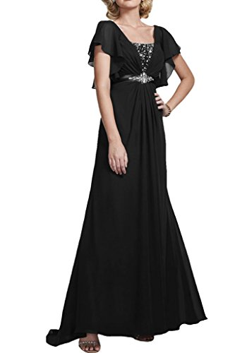 Missdressy -  Vestito  - linea ad a - Donna nero 44