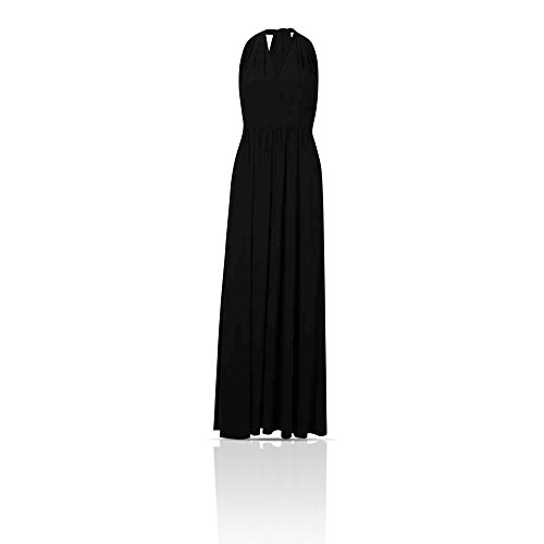 Marks and Spencer Damen Maxikleid Kleid Schwarz rCuraN - foreman ...