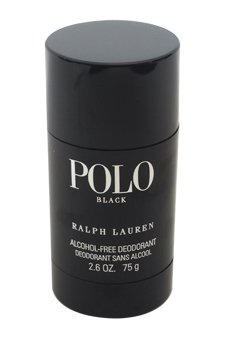 Ralph Lauren Polo Black Deodorant Stick for Men, 2.6 oz