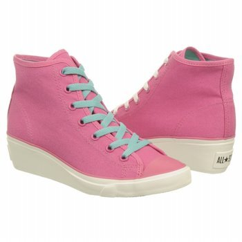6ff648fa7b8 Image Unavailable. Image not available for. Color  Converse Women s Chuck  Taylor Hi-Ness Hi Top Wedge Rose Sneaker ...