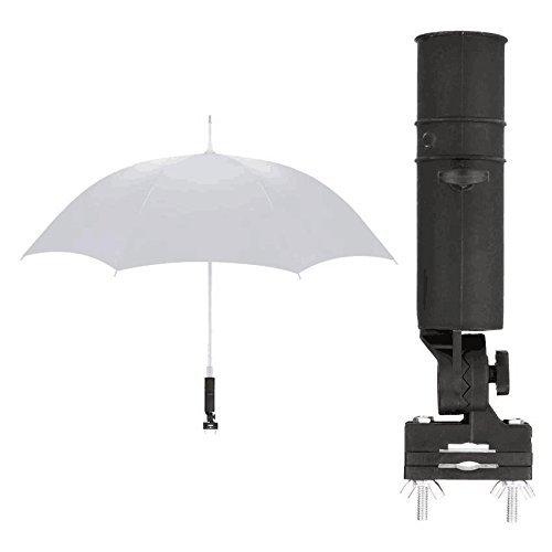 Soporte de Paraguas de Golf Ajustable,Golf Umbrella Holder Paraguas de Golf Universal para Todos Carrito de Golf de Buggy de...