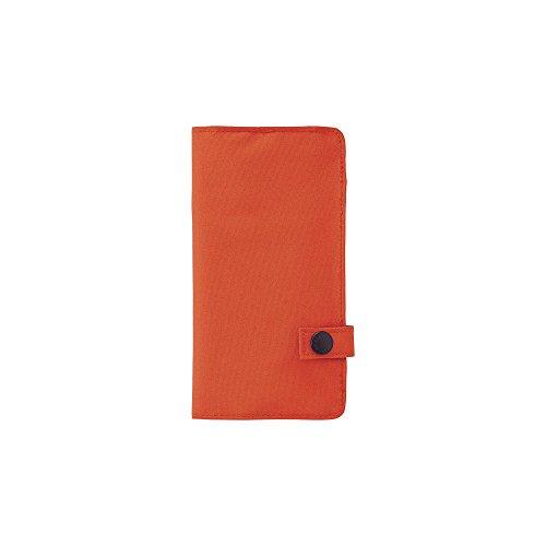 - LIHIT LAB. Slim Pen Case, Orange, 7.5 x 4.3