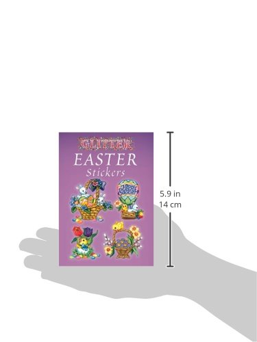 Glitter Easter Stickers (Dover Little Activity Books Stickers)