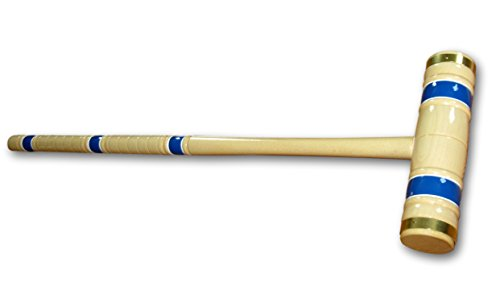 8-Player Deluxe Amish Crafted Croquet Game Set with Carry Bag (33'' Mallet Length) by AmishToyBox.com (Image #4)