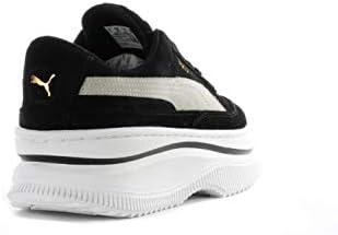 PUMA Deva Suede W 372423 03 Sneaker Woman Suede Black White 39