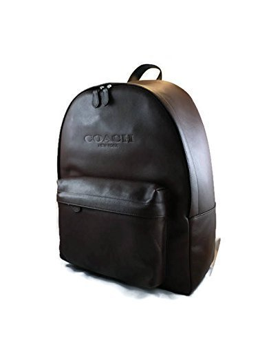 Amazon.com: COACH Camera Backpack Mens DSLR Backpack Mens Leather ...