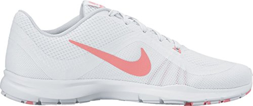 Nike Wmns Nike Flex Trainer 6 Prem - white/bright melon-pure platin