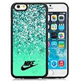 Nike Just Do It 44 Black Screen TPU Cover Case For Iphone 6S Plus/6 Plus 5.5 Inches (It Do Just Iphone Case Nike 5c)