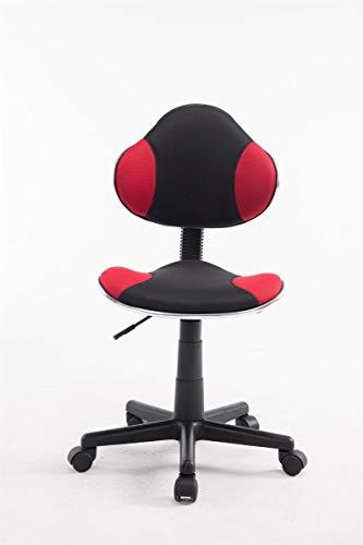 Fauteuil de Bureau Réglable en Hauteur Bastian – Chaise de Bureau Ergonomique à roulettes Rembourrée Revêtement en…