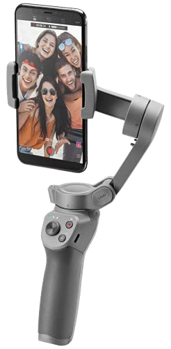 DJI Osmo Mobile 3 – 3-Axis Smartphone Gimbal Handheld Stabilizer Vlog Live Video for iPhone Android (Grey)