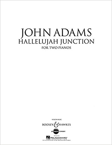 Book Hallelujah Junction: Two Pianos, Four Hands